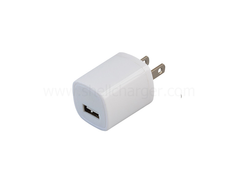 UL/FCC/NRcan Approved USB Wall charger,1A,S-TR-084