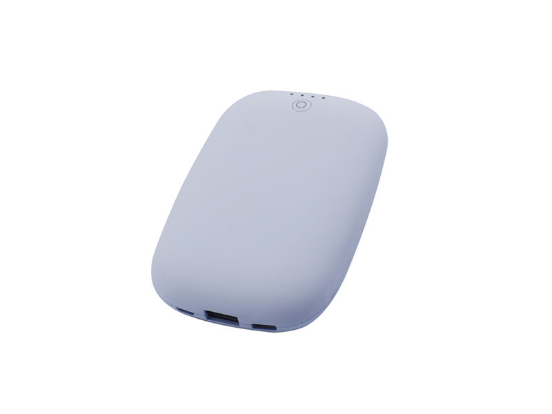 Wireless Charger with 5000mAh power bank,3.4A Type c +Type A