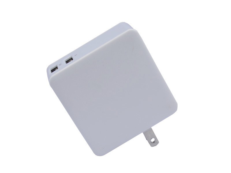 3.4A,2USB Wall Charger(Smart IC) with Power Bank(5000mAh) S-TCB-123
