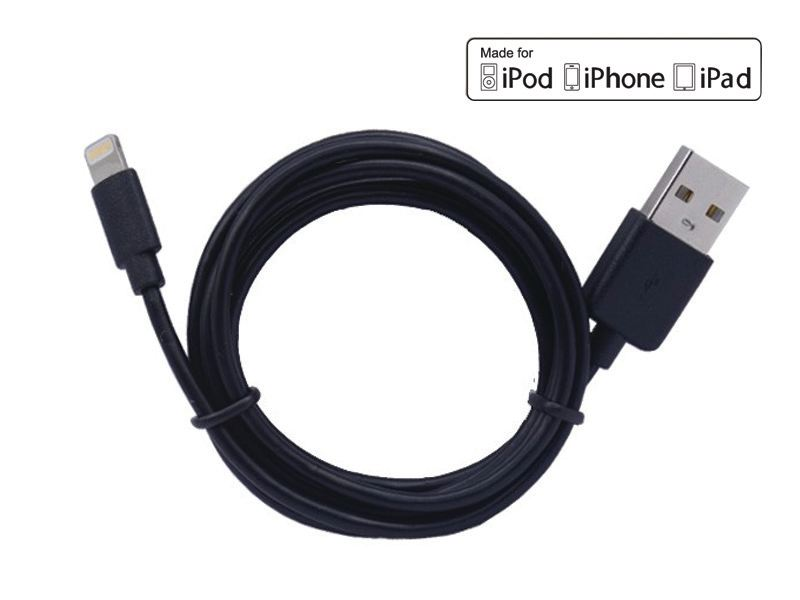 1M PVC MFI lightning cable